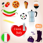 I love Italy — Vecteur