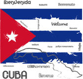 Welcome to Cuba — Stock Vector