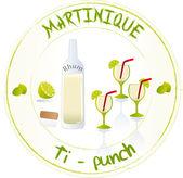 Matinique — Stock Vector