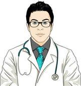 Doctor — Stock Vector
