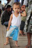 ミャンマーの少年 — ストック写真