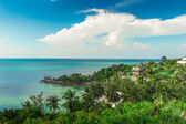 Tropic island view — Stock Photo
