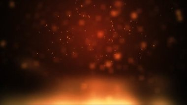 Fire pyro — Stock Video