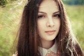 Amazingly beautiful sweet girl — Stockfoto