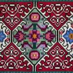 Handemade Slavic carpet — Stock Photo #39213519