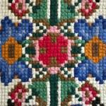 Handemade Slavic carpet — Stock Photo #39213531