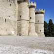 Medieval Knights Grand Master Palace — Stock Photo
