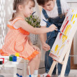 Little artists — Stock Photo #39220263