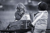 Young pilots — Stock Photo