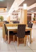 Interior of restaurant — Stock Photo