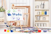 Art workshop — Stock Photo