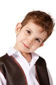 Uśmiechnięty chłopczyk — Zdjęcie stockowe