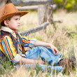Boy in cowboy suit — Stock Photo #43970621
