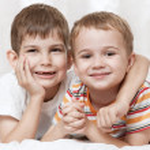 Happy young boys — Stock Photo #43970665