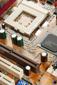 Electronic system board — Stock Photo