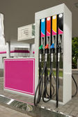Detail of a petrol pump — Stockfoto
