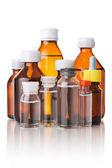 Medicinsk flaskor — Stockfoto