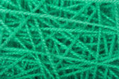 Green connected woolen cloth — Stok fotoğraf