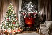 Interior de natal — Foto Stock