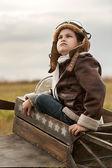 Jonge vlieger — Stockfoto