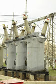 Rural power station — Stock Photo
