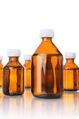 Medical bottles — Stock Photo