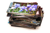 Stack of the photos — Stock Photo