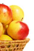 武姆碗里熟透了的苹果 — 图库照片