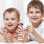 Happy young boys — Stock Photo #43988319
