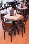 Café interier — Fotografia Stock