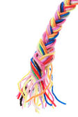 Yarn in plait — Stock Photo