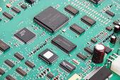 Elektronický systém deska — Stock fotografie
