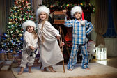 Children in the New Year — Stock Photo