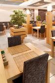 Interior of restaurant — Стоковое фото