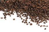 Granular black tea — Stock Photo