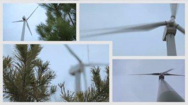 Alternativní zdroje energie — Stock video