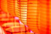 Beautiful close-up international lanterns — Stockfoto