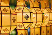 Northern Thai Style Lanterns at Loi Krathong — Stock Photo