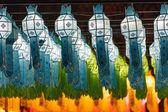 Northern Thai Style Lanterns at Loy Krathong Festival — Stock Photo
