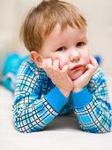 портрет милый маленький мальчик — Стоковое фото