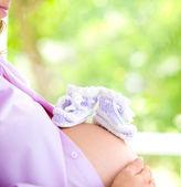 Wizerunek kobiety w ciąży — Zdjęcie stockowe