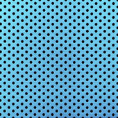 Blue metal grate background — Stockfoto