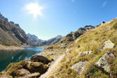 Beautiful lake in France — Stock Photo