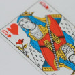 Stock Video: Play Cards couple symbol