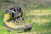 Hiking boots — Stockfoto