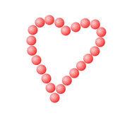 Láska srdce — Stock fotografie