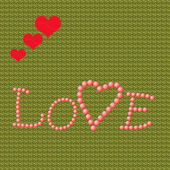 Amore cuore — Foto Stock