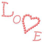 älska hjärta — Stockfoto