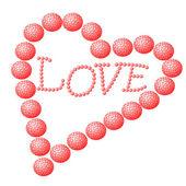 Liefde hart — Stockfoto
