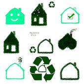 Eco-House — 图库照片